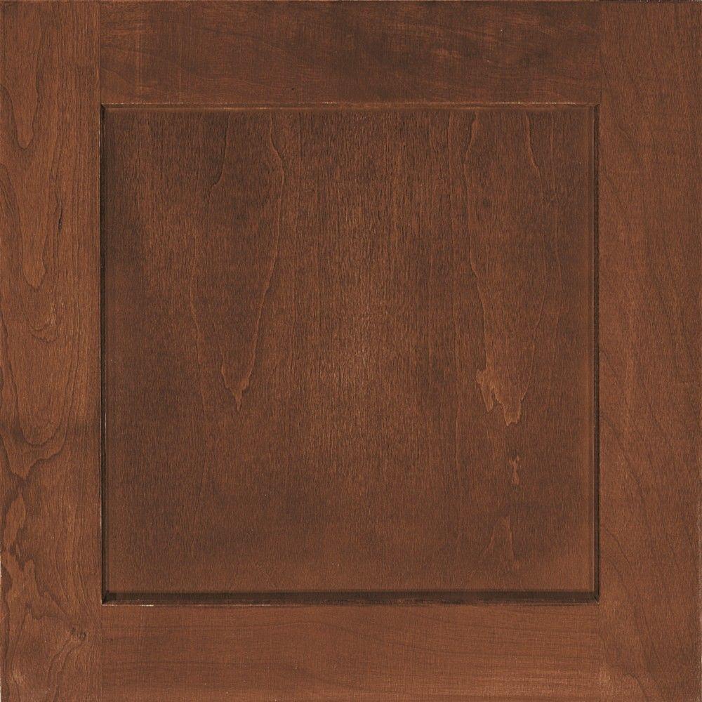 Thomasville 14.5x14.5 in. Cabinet Door Sample in Cottage Cinnamon