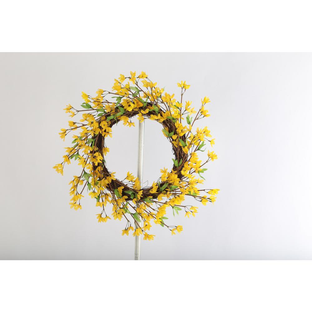 20 Forsythia Twig Wreath