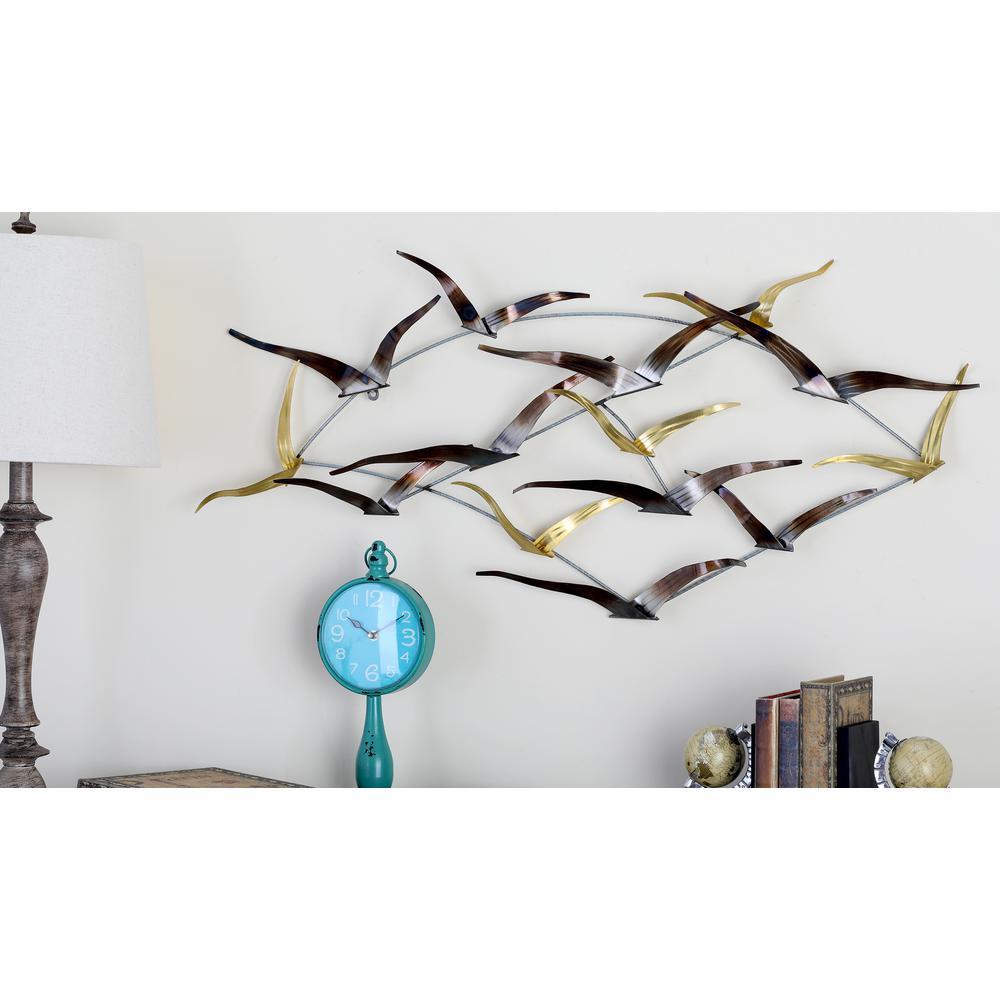 Exceptional Metal Sea Bird Wall Decor