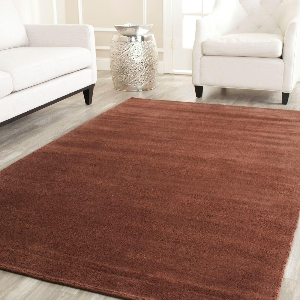 Himalaya Brown 5 ft. x 8 ft. Area Rug