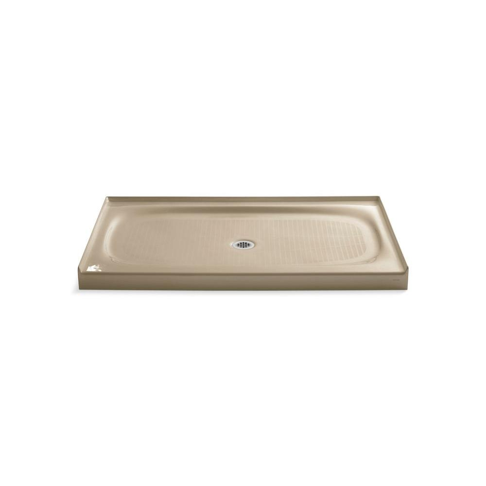 KOHLER Salient 60 In. X 36 In. Single Threshold Shower Base In Mexican Sand