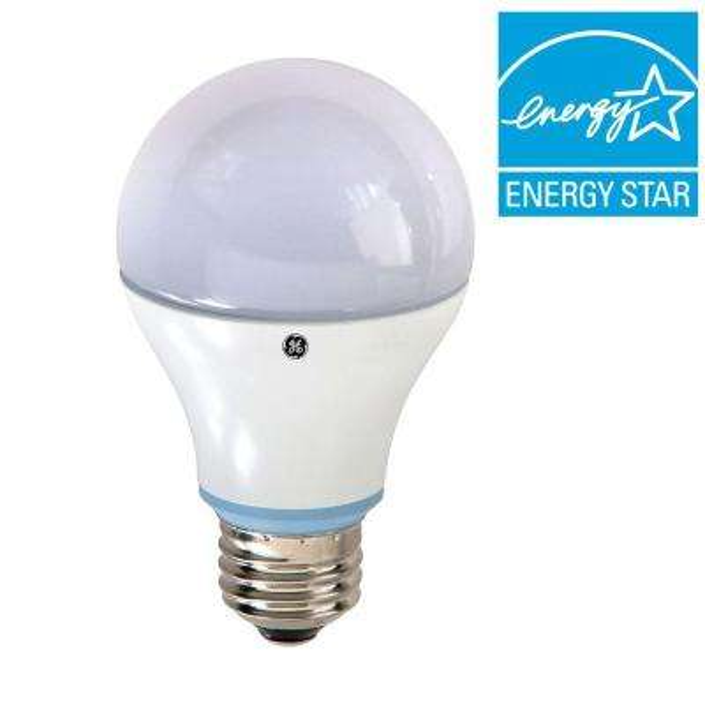 60W Equivalent Reveal A19 LED Light Bulb (2-Pack)