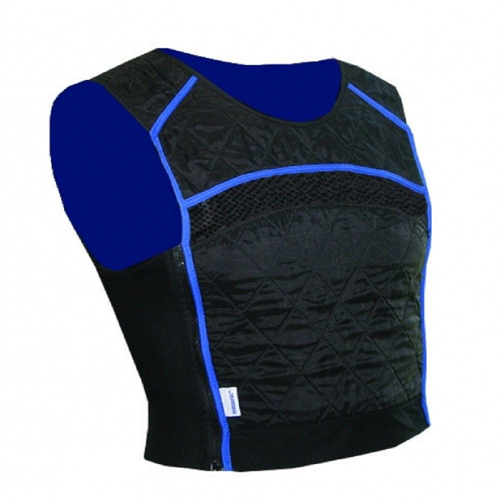 Large Black Evaporative Cooling Tank Top