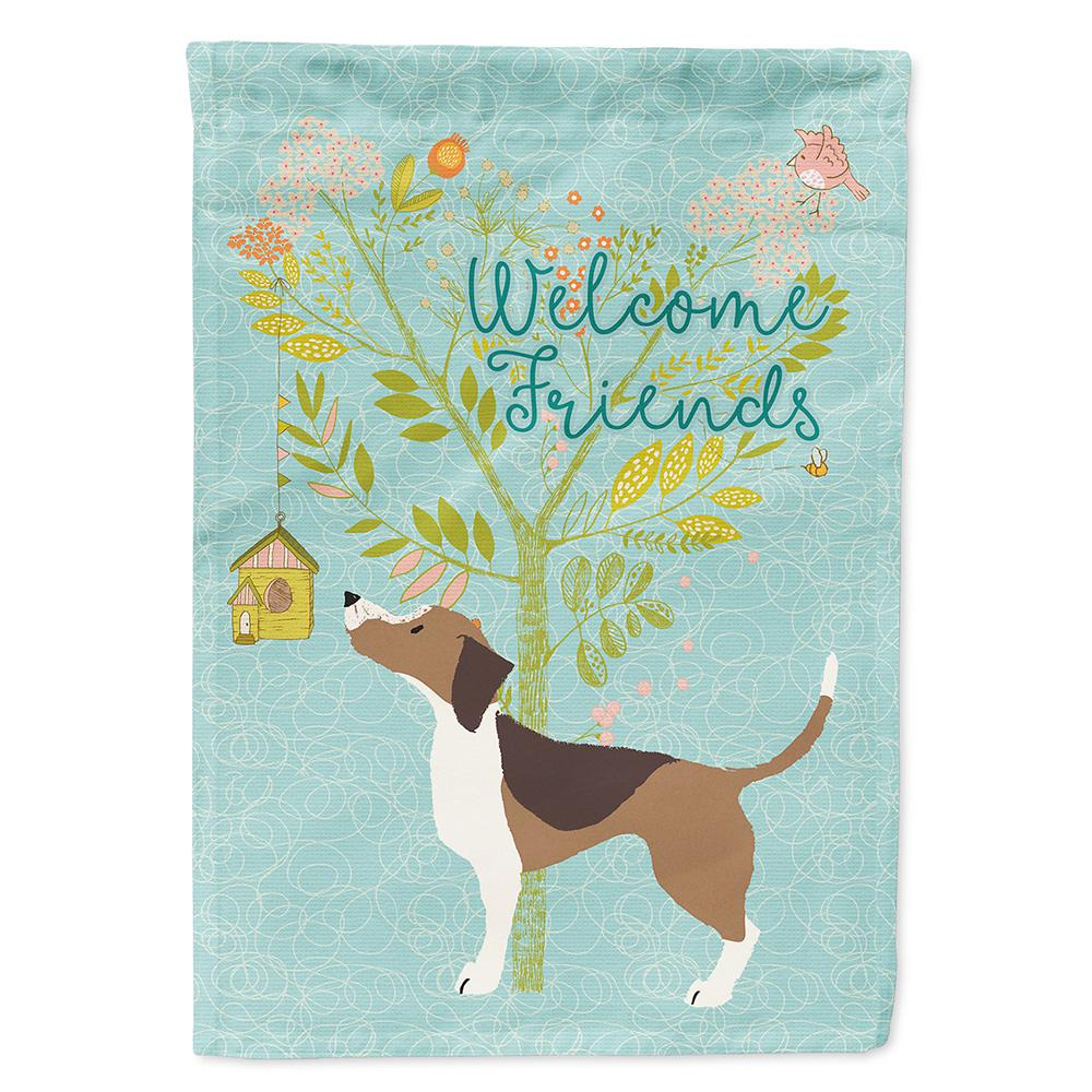Carolineu0027s Treasures 11 In. X 15 1/2 In. Polyester Welcome Friends