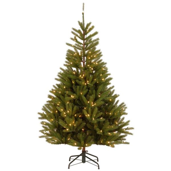 6.5 ft. Feel Real Topeka Spruce with 300 Clear Lights