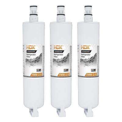 FMW-2-S Standard Refrigerator Replacement Filter Fits Whirlpool Filter 5 (3-Pack)