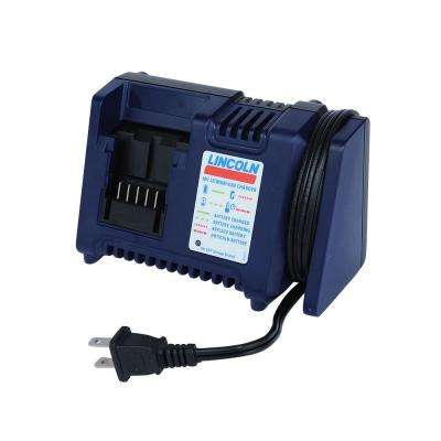 18-Volt Lithium-Ion Battery Charger for Grease Gun