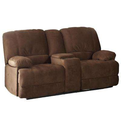 Kevin Brown Reclining Living Room Love Seat with Console