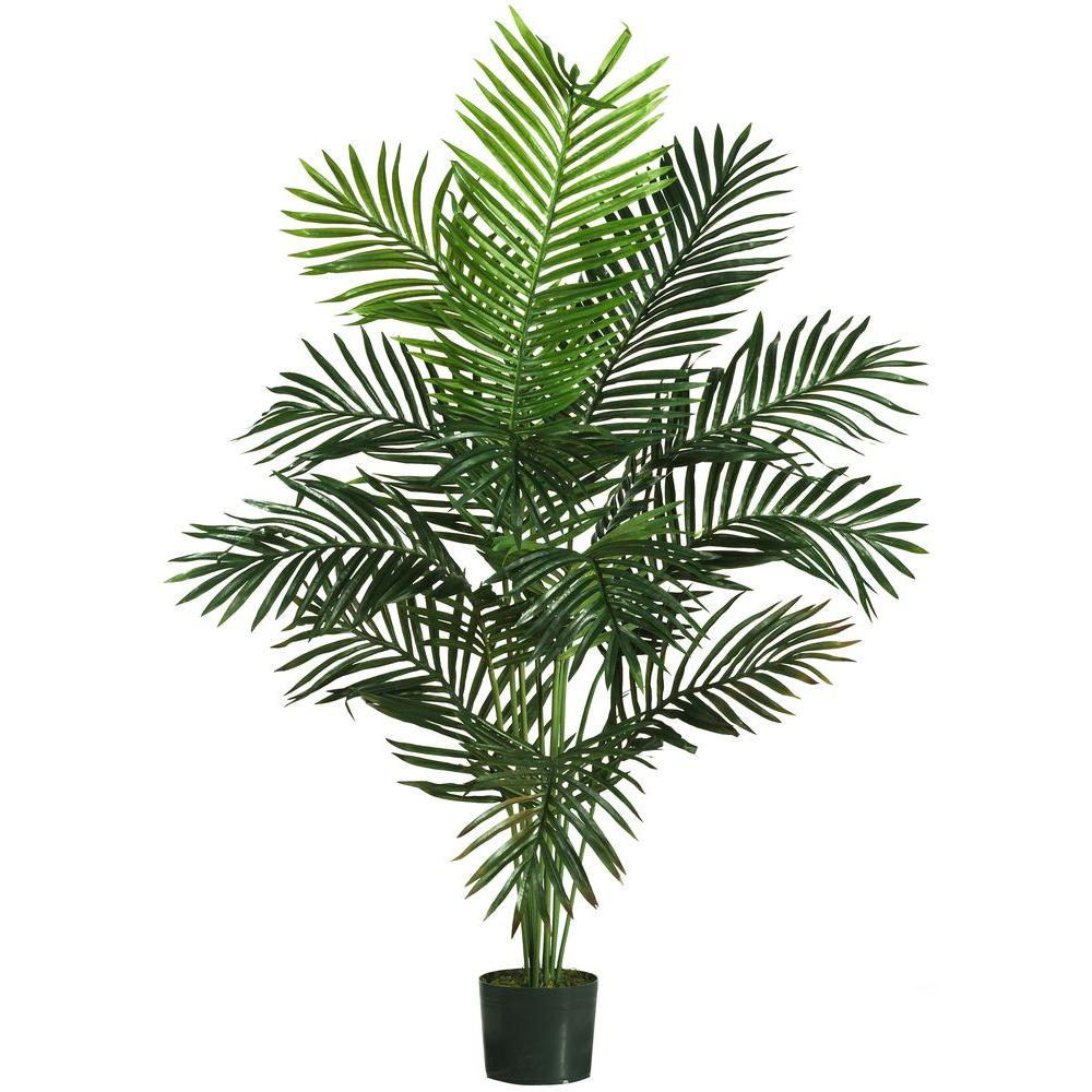 Nearly Natural 5 ft. Paradise Palm Silk Tree