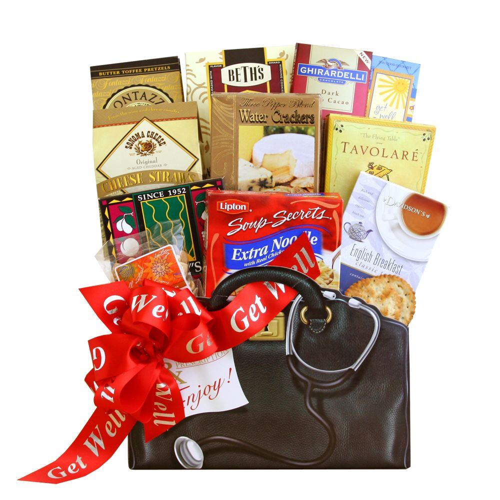 null Get Well Wishes Gift Basket