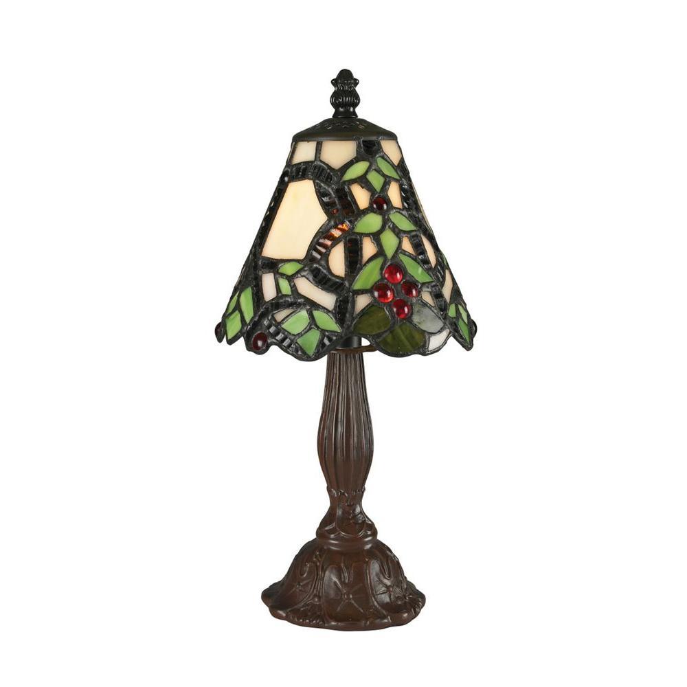 Filament Design Viva 12 in. Chestnut Bronze Table Lamp
