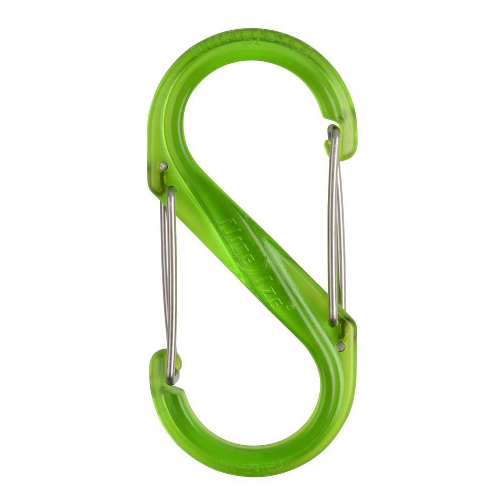 #4 Green Plastic S-Biner