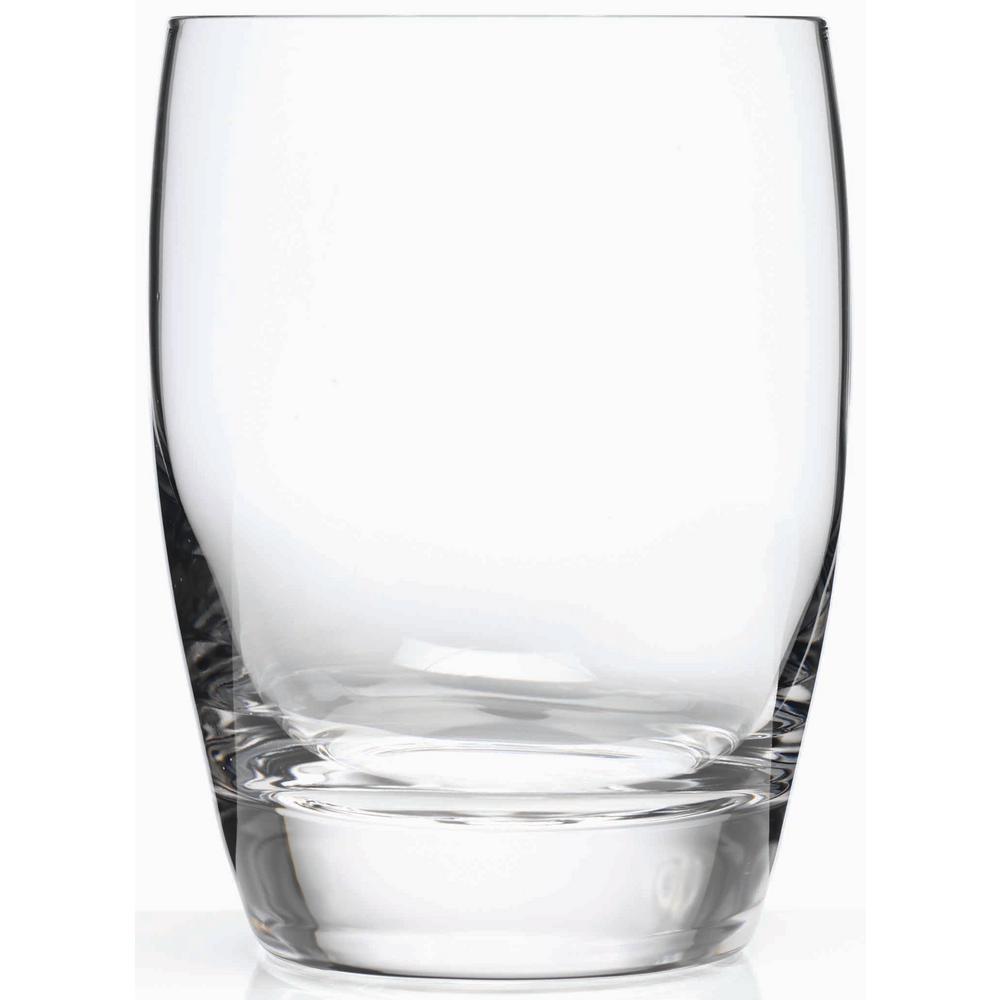 Michelangelo Masterpiece 15.75 fl. oz. Lead-Free Ultra Clear Glass DOF Drinking Glass (4-Pack)