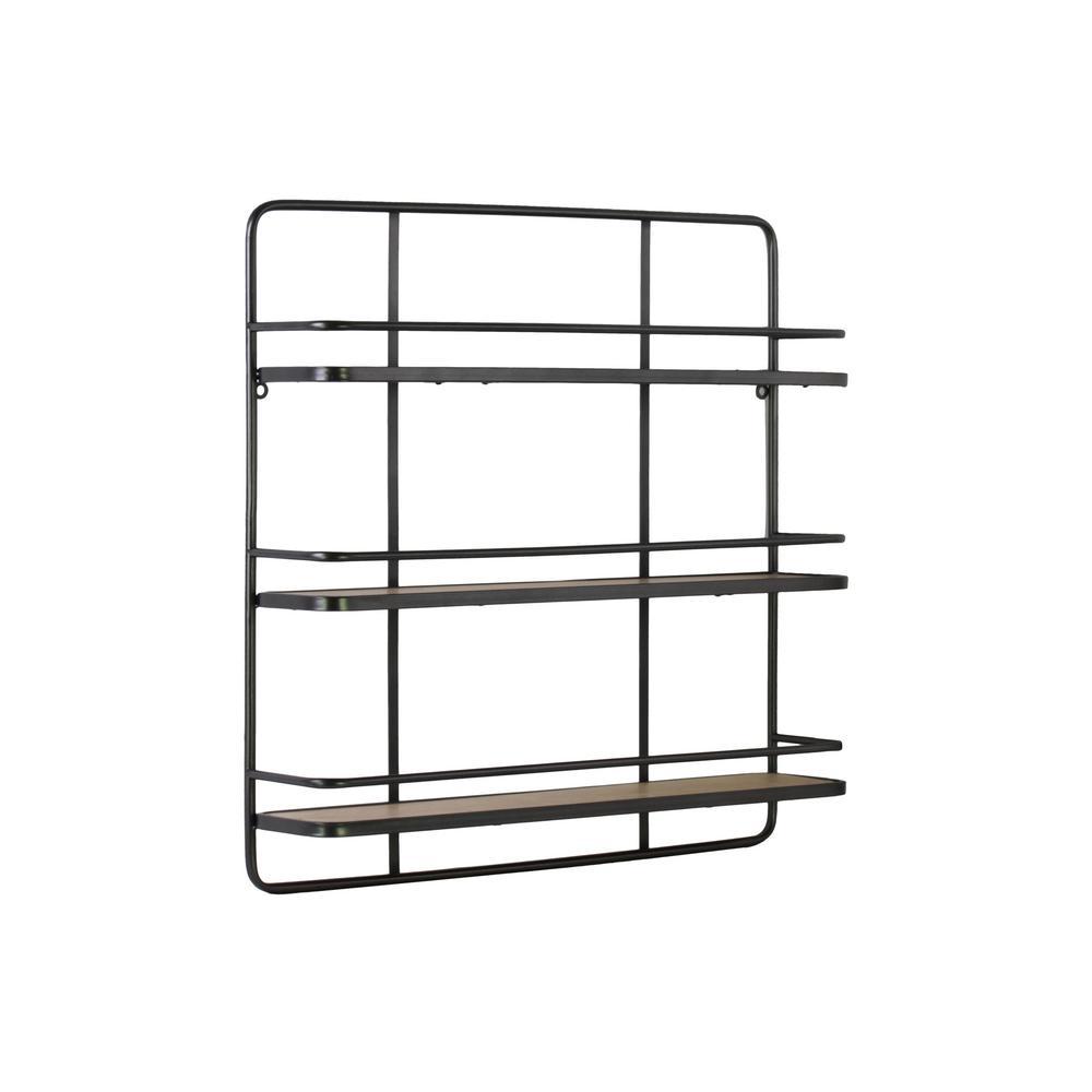 24 in. x 24.25 in. 1 Metal Wall Shelf