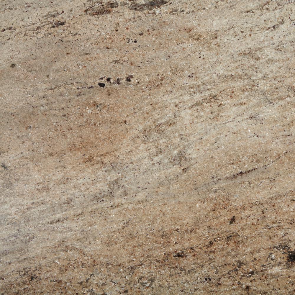 3 in. x 3 in. Granite Countertop Sample in Kashmir Cream