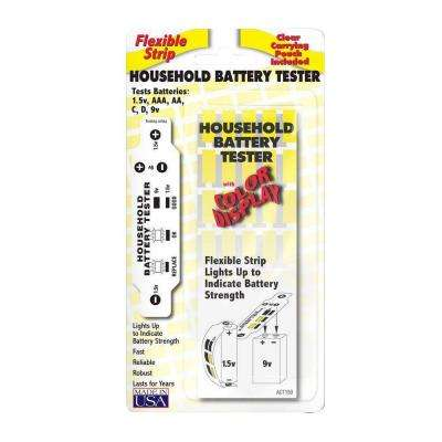 Household Battery Tester (2-Pack)