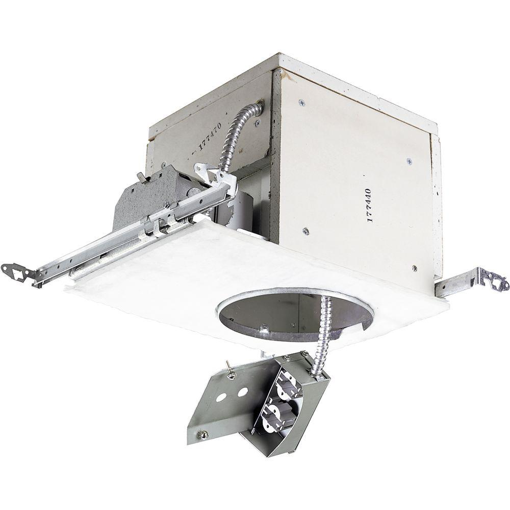 Progress Lighting 6 in. Metallic Pro-Optic Firebox Compact Fluorescent Recessed Housing