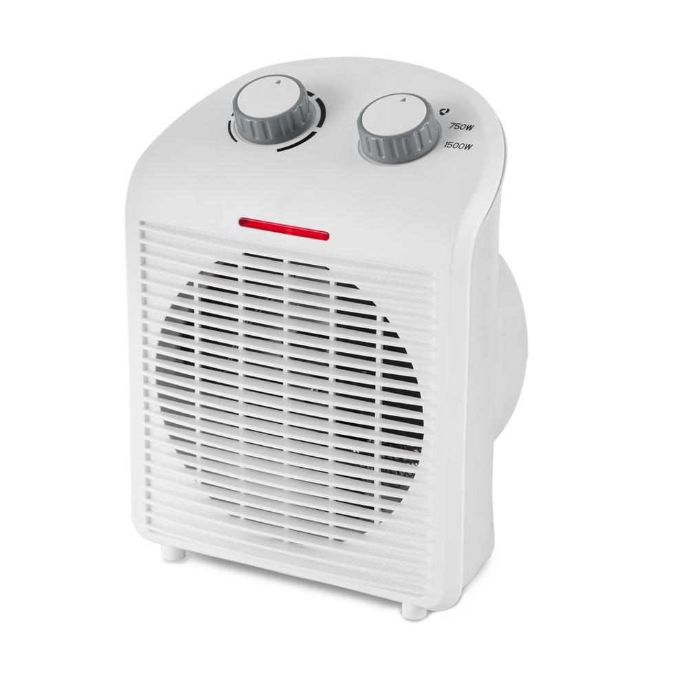 UPC 193802000009 product image for LIMINA 5 in. x 7.5 in. x 11 Portable Home Office Personal Electric 1500-Watt Fan | upcitemdb.com