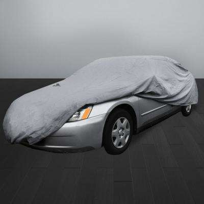 Supreme Water Resistant 210 in. x 70 in. x 47 in. X-Large Exterior Sedan Car Cover