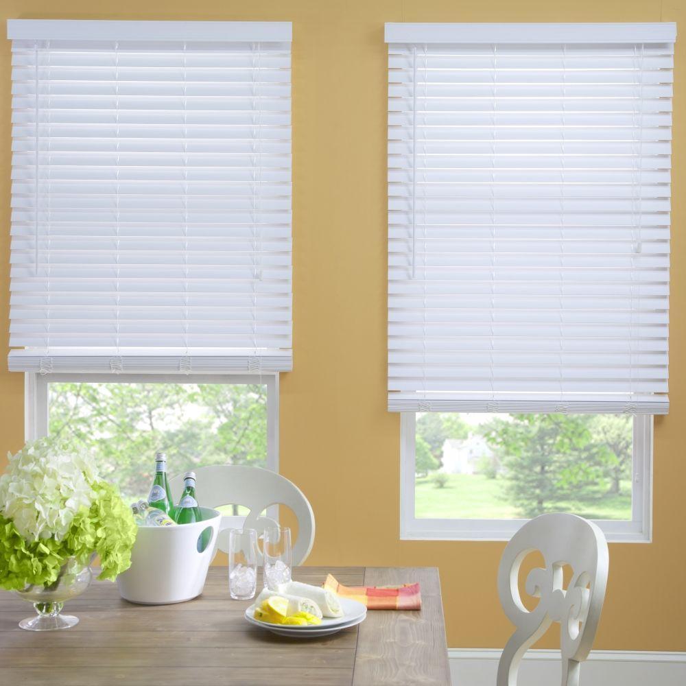 Decor Home Decorators Collection Premium Faux Wood Blinds