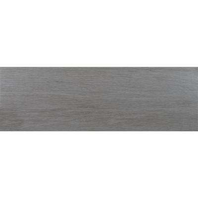 Everglades Grey 8 in. x 24.5 in. Glazed Ceramic Floor and Wall Tile (12.25 sq. ft. / case)
