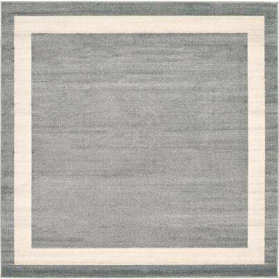 Del Mar Maria Gray 8' 0 x 8' 0 Square Rug