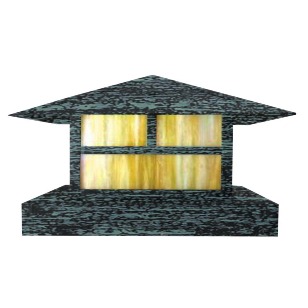 Centennial 1-Light Outdoor LED Rubbed Verde Area Light