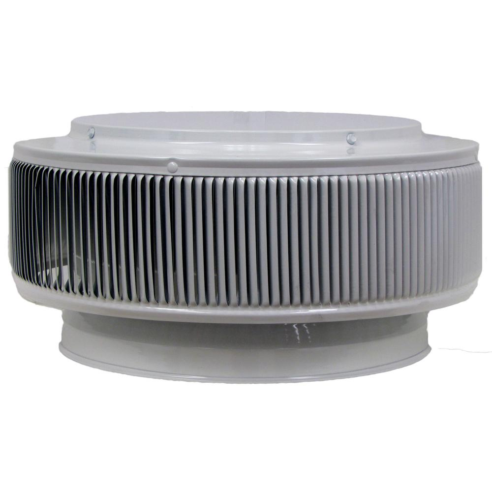 12 in. Dia Aura PVC Vent Cap Exhaust with Adapter for