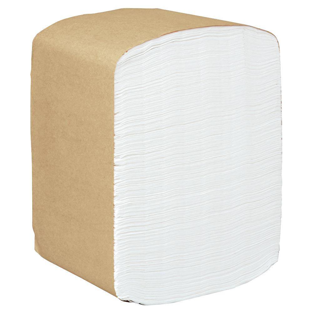 Scott 13 in. x 12 in. White 1-Ply Full-Fold Dispenser Napkins (16-Pack)
