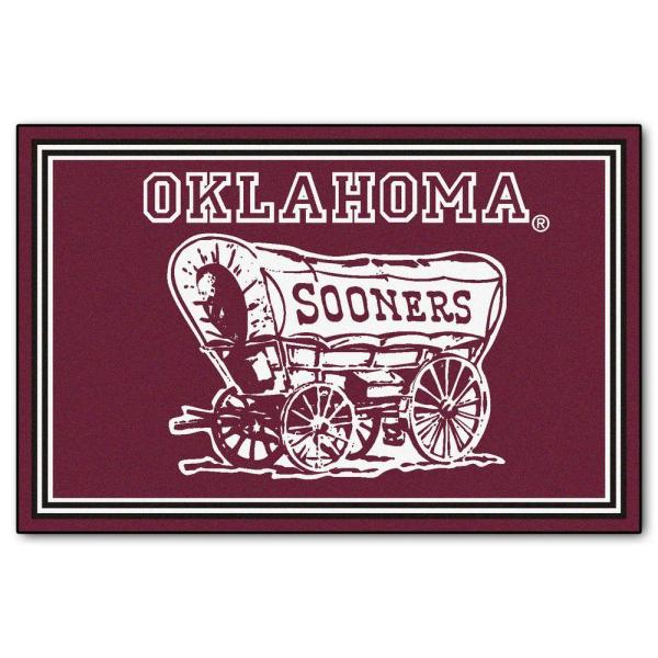 University of Oklahoma 5 ft. x 8 ft. Area Rug