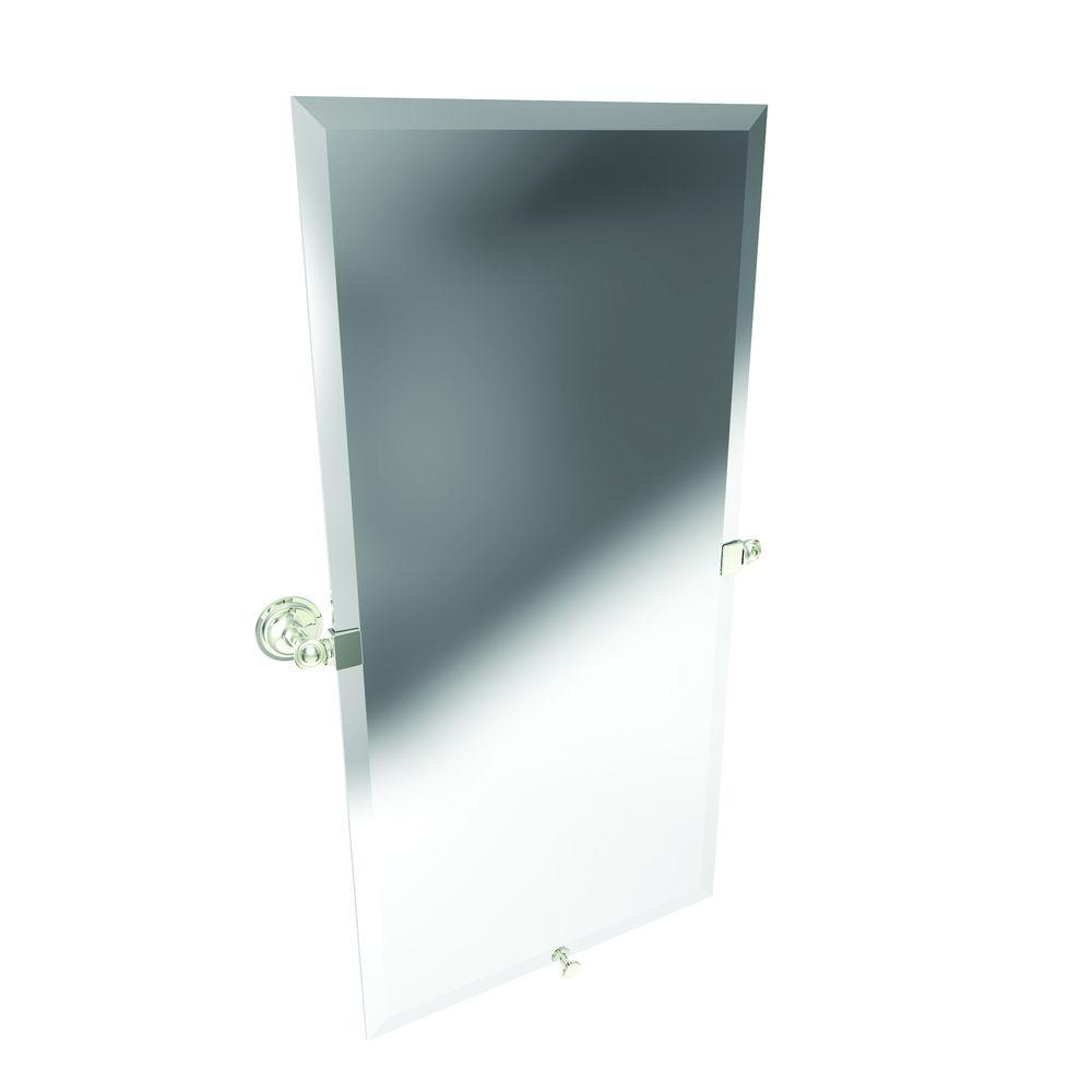 Ginger London Terrace 30 in. x 15 in. Beveled Edge Mirror