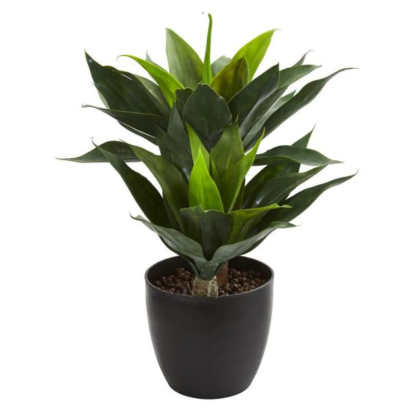 Nearly Natural Indoor 21 in. Agave Artificial Plant 6348