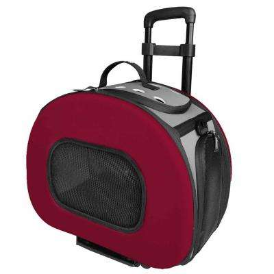 Tough-Shell Wheeled Collapsible Final Destination Pet Carrier