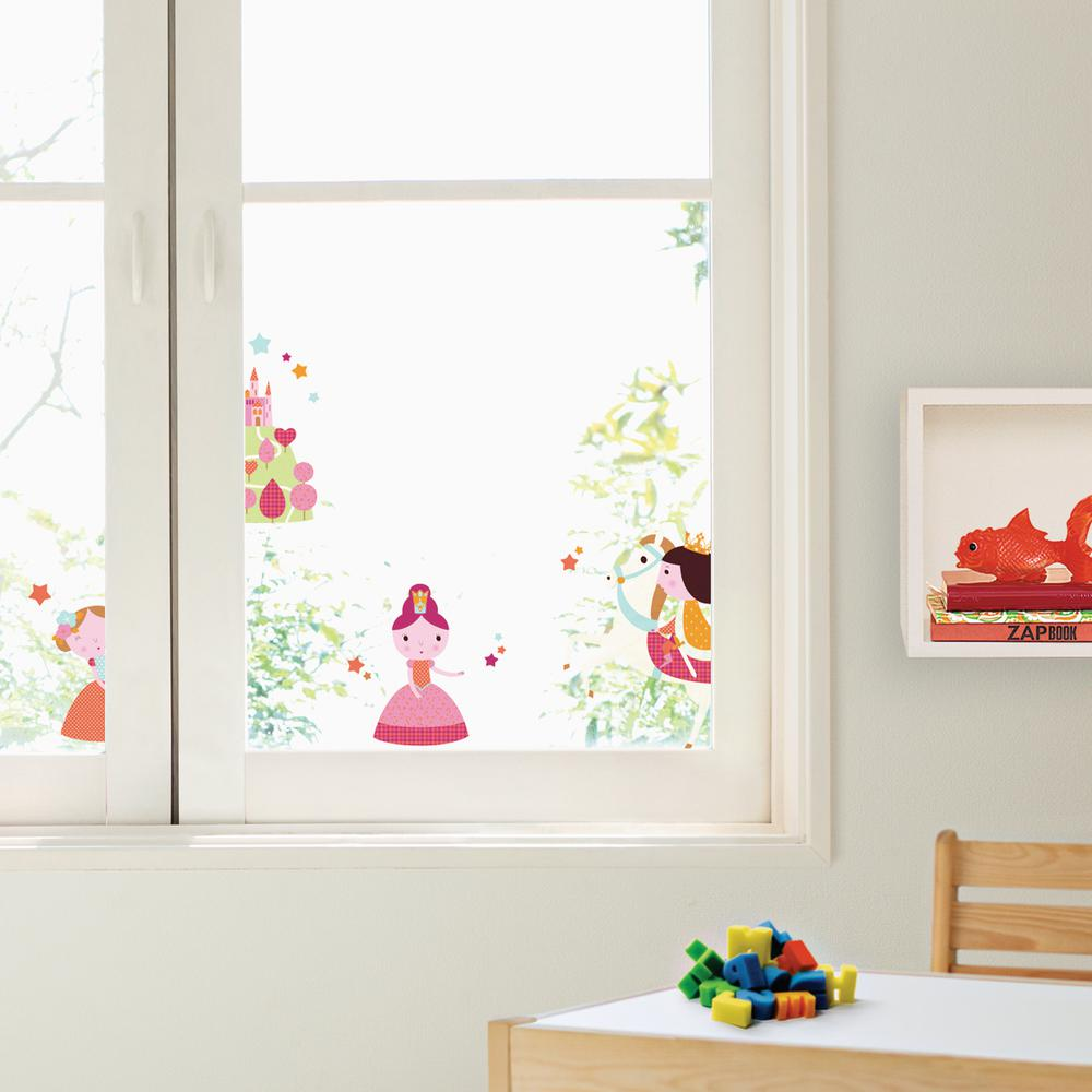 Nouvelles Images Multi Color Princesses Wall Decals Howi 1872 The