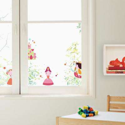 Multi-Color Princesses Wall Decals