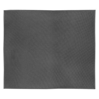 SuperFoam Black 36 in. x 36 in. Nitrile Rubber/PVC Sponge Blend 5/8 in. Thick Anti-Fatigue Mat