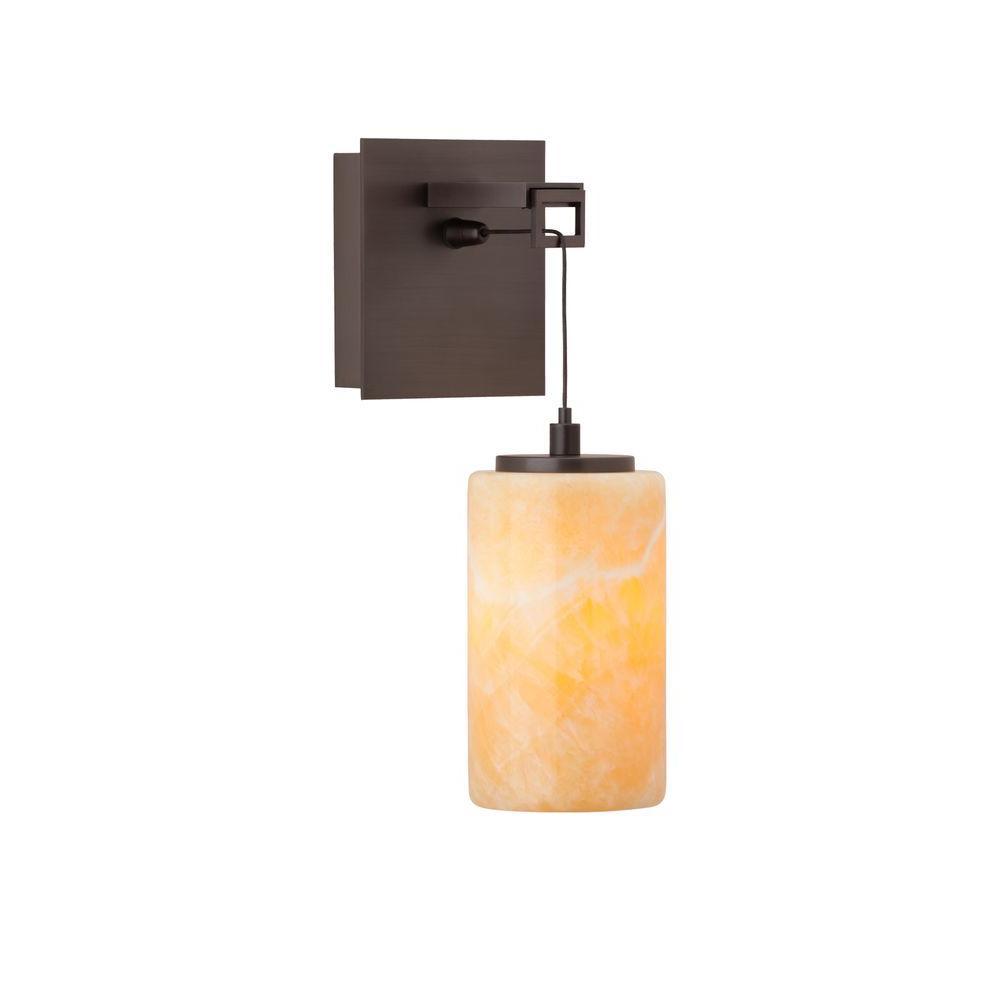 Ensu 1-Light Bronze Wall Light