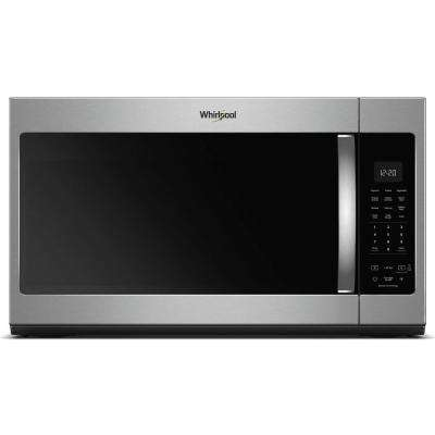 30 in. W 1.9 cu. ft. Over the Range Microwave in Fingerprint Resistant Stainless Steel with Sensor Cooking
