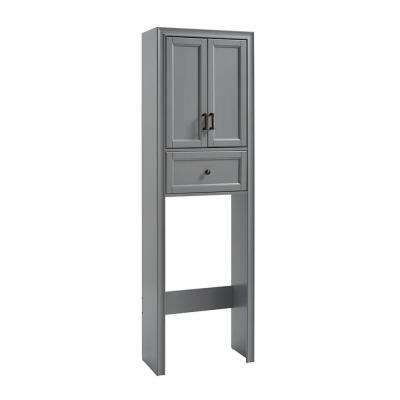 Tara 22 in. W x 72 in. H x 11 in. D Space Saver in Grey