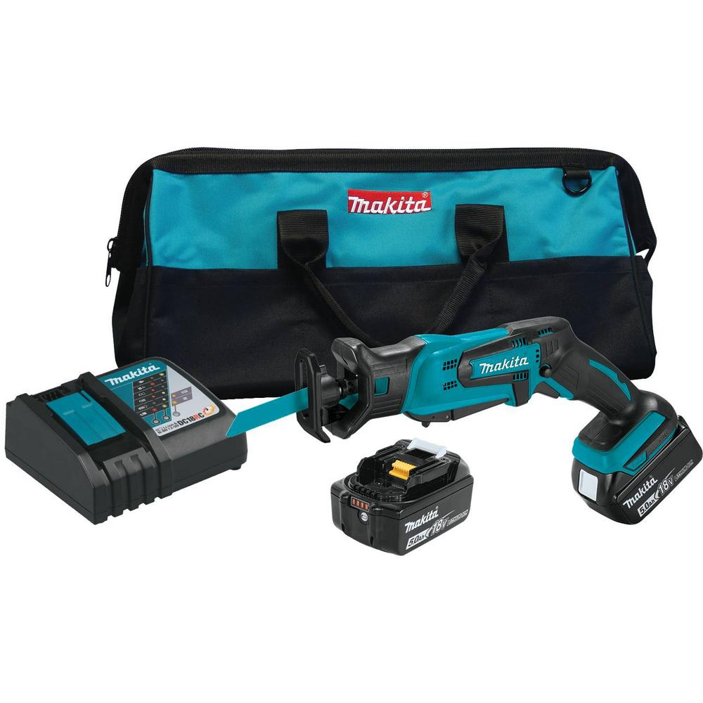 18-Volt 5 0Ah LXT Lithium-Ion Cordless Compact Reciprocating Saw Kit
