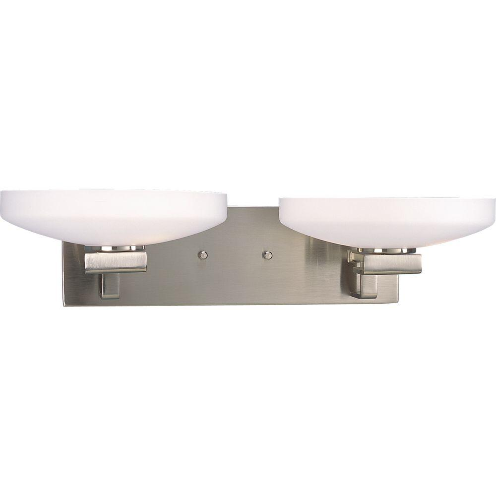 Thomasville Lighting International Collection Brushed Nickel 4-light Vanity Fixture-DISCONTINUED