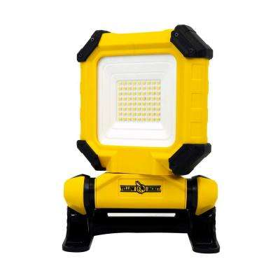 1700 Lumens Rechargeable Clamping Work Light, Yellow