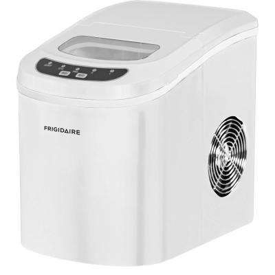 26 lbs. Freestanding Ice Maker in White