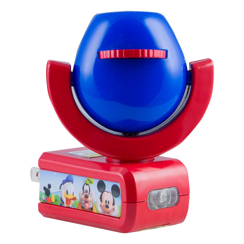 projectables night light Join mr incredible, elastigirl and their children violet, dash and jack-jack on a  night of crime stopping adventure with the incredibles 2 projectable night light.