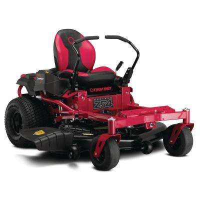 Mustang 54 in. 24 HP V-Twin Briggs and Stratton Engine Gas Zero Turn Riding Mower with Dual Hydro Transmissions