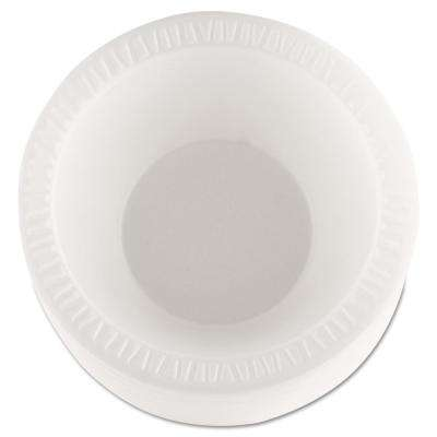 10 oz. - 12 oz. Concorde Non-Laminated Foam Bowls in White (1000 Count)