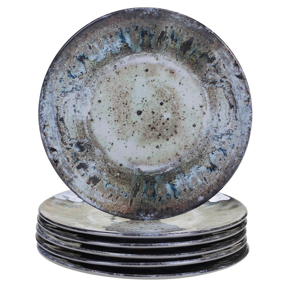 Certified International Radiance Multicolor Salad Plate (Set of 6) 23951SET6