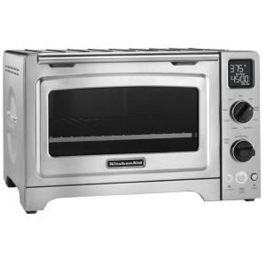 Deals on KitchenAid KCO273SS 1800 W 4-Slice Convection Toaster Oven