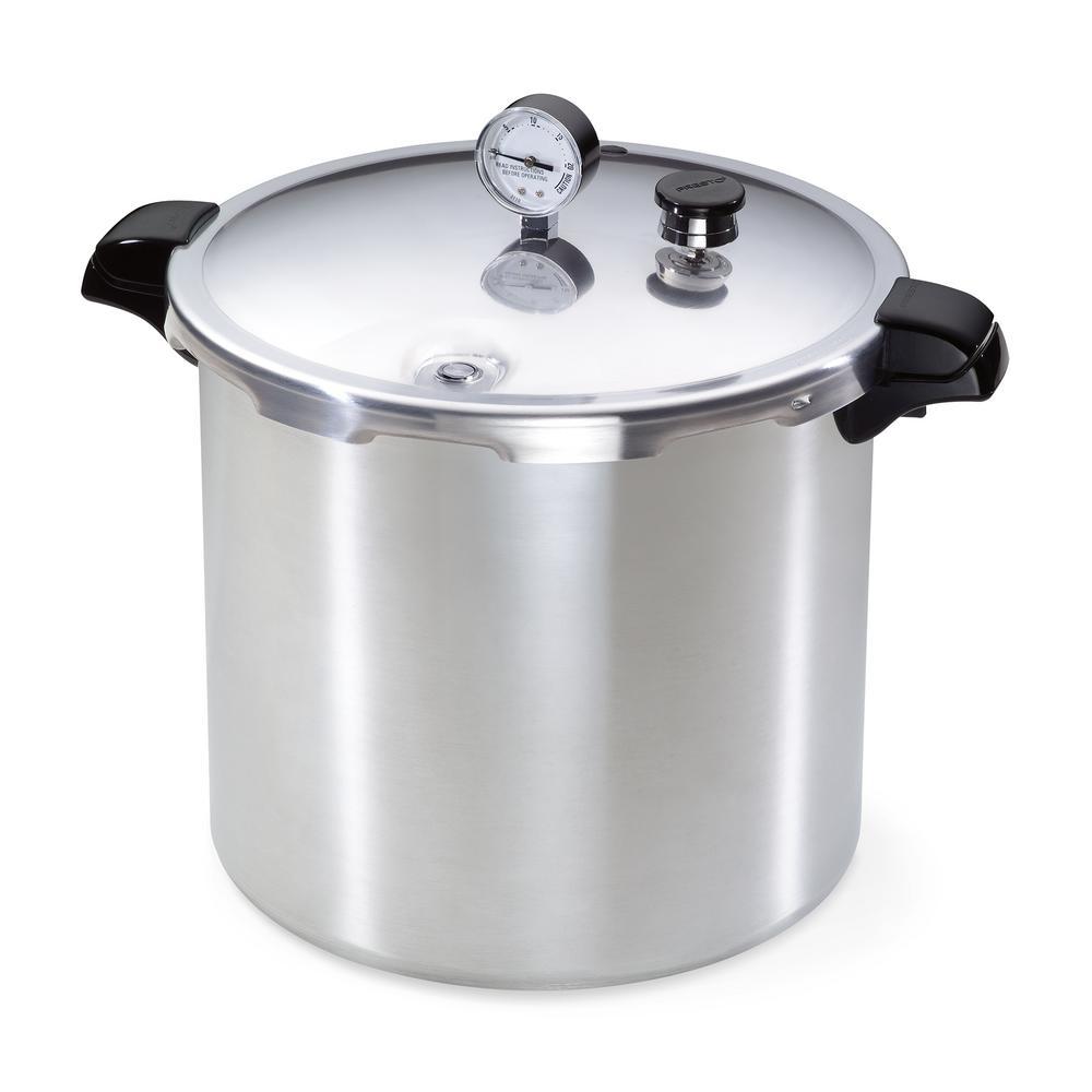 23 Qt. Aluminum Pressure Cooker