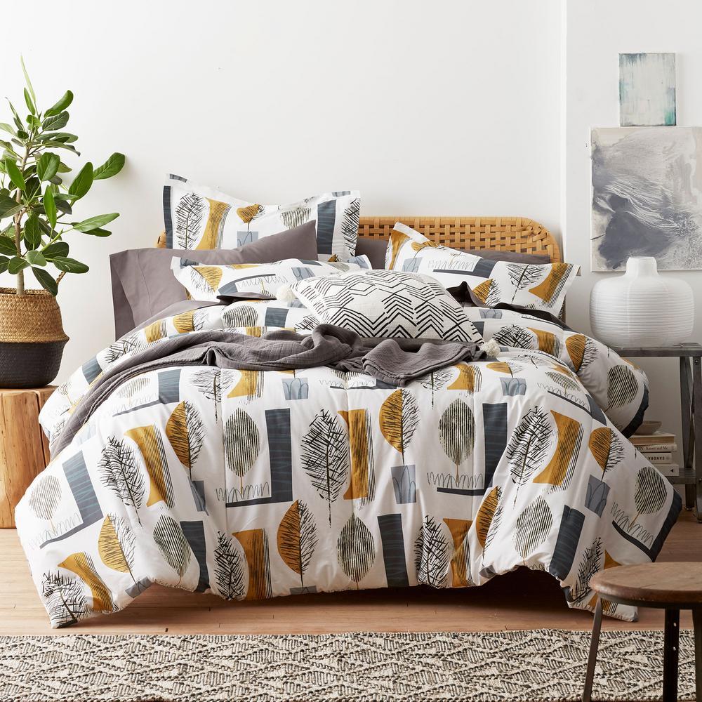 Sumi Cotton Percale Comforter Set